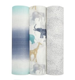 Aden & Anais Expedition 3-Pack Silky Soft Swaddles
