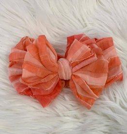 In Awe Couture Ruffle Headband Sunburst