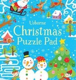 Usborne Christmas Puzzle Pad