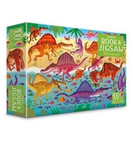 Usborne Book & Jigsaw Puzzle: Dinosaurs