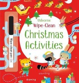Usborne Wipe-Clean Christmas Activities