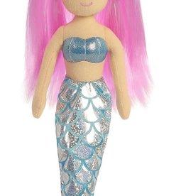 """Aurora 10"""" Sea Sparkles Crystal Mermaid"""