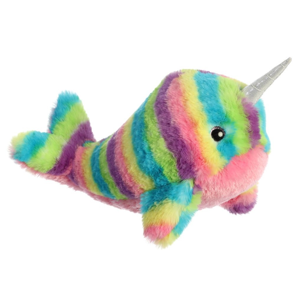"Aurora 12"" Rainbow Narwhal"