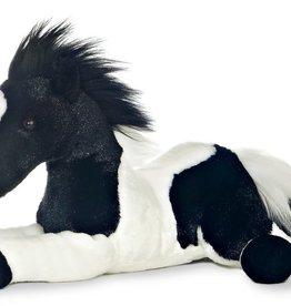 """Aurora 12"""" Star (Black & White Horse)"""