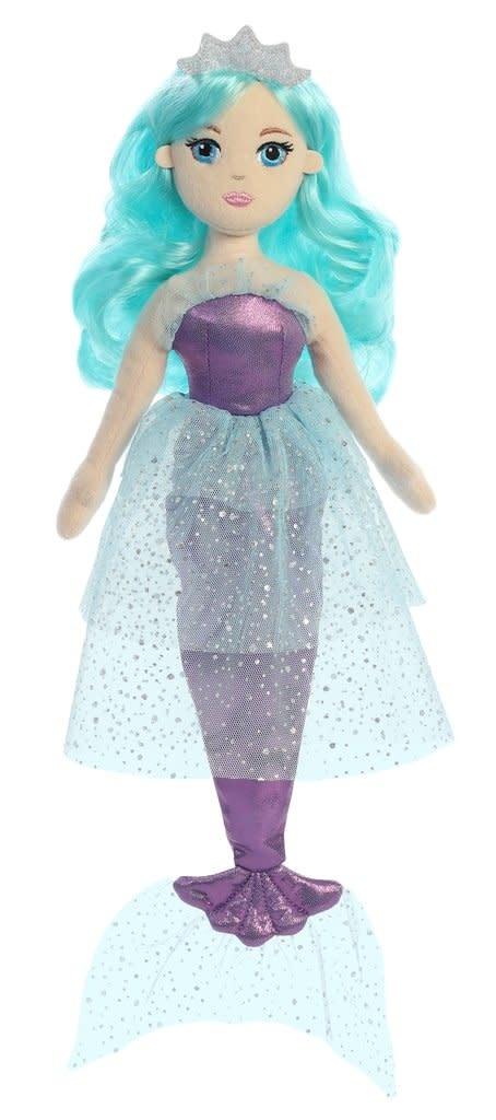 "Aurora 18"" Jellyfish Jewel Sparkles Aquamarine"