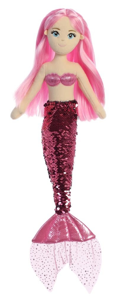 """Aurora 18"""" Sequin Sparkles Ava Mermaid"""