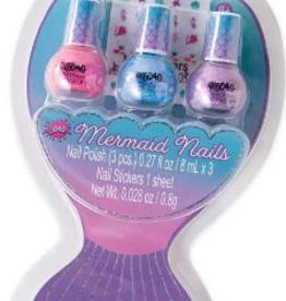 Three Cheers for Girls! Mermaid Hologram Nail Polish Trio