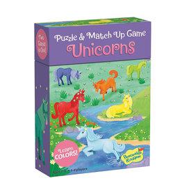 Peaceable Kingdom Match Ups Puzzle Game: Unicorns