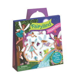 Peaceable Kingdom Fairyland Reusable Sticker Tote