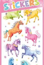 Peaceable Kingdom Glitter Ponies Stickers