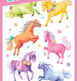 Peaceable Kingdom Glitter Ponies Stickers
