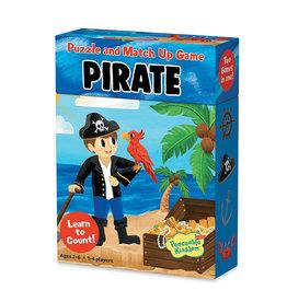 Peaceable Kingdom Match Up Puzzle Game: Pirates