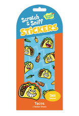 Peaceable Kingdom Taco Scratch & Sniff Stickers