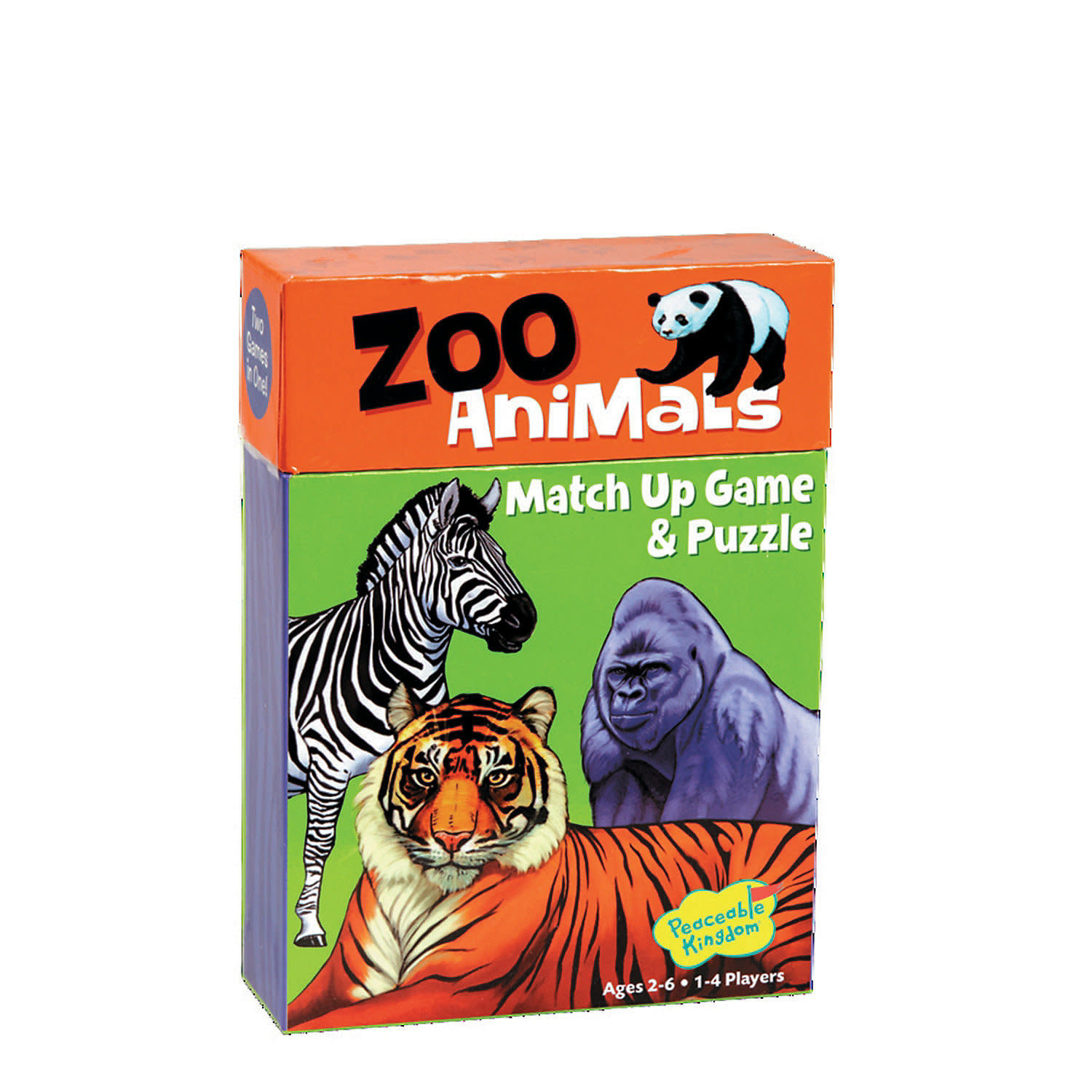 Peaceable Kingdom Zoo Animal Match Up Game
