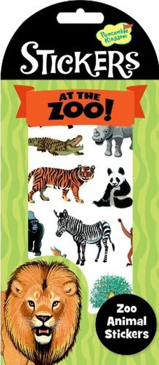 Peaceable Kingdom Zoo Animal Stickers