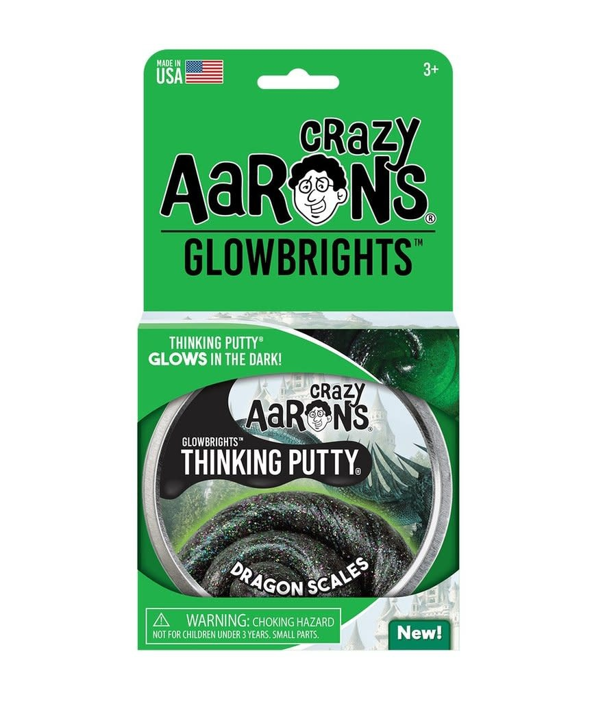 """Crazy Aaron's Putty World Dragon Scales 4"""" Putty Tin"""