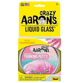 "Crazy Aaron's Putty World Rose Lagoon 4"" Putty Tin"