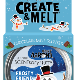 Crazy Aaron's Putty World Scentsory Cool Frosty Friend Tin