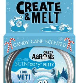 Crazy Aaron's Putty World Scentsory Cool Yeti Putty Tin