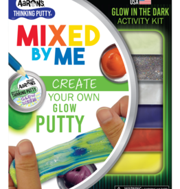 Crazy Aaron's Putty World Glow in the Dark Mixed by Me Kit