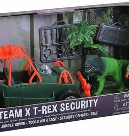 Wild Republic E-Team X T-Rex Play Set