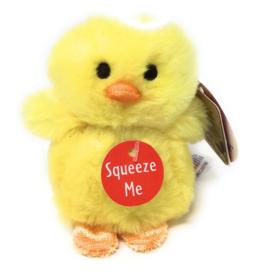 """Aurora 3.5"""" Yellow Chirpin Chick Easter"""