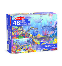 Melissa & Doug Underwater 48pc Floor Puzzle