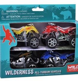 Wild Republic Action ATV Wilderness 4pk