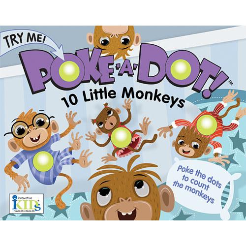 Melissa & Doug 10 Monkeys Poke-A-Dot