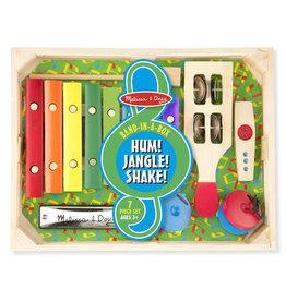 Melissa & Doug Band-in-a-Box: Hum! Jangle! Shake!
