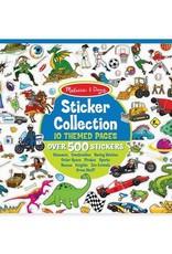 Melissa & Doug Blue Sticker Collection