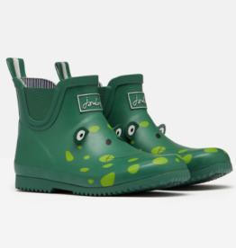 Joules JNR Wellibob Boot Green Frog