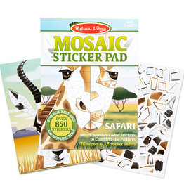Melissa & Doug Mosaic Sticker Pad Safari