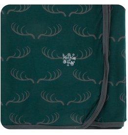 Kickee Pants Swaddling Blanket Pine Deer Rack
