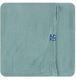Kickee Pants Solid Knitted Blanket Jade