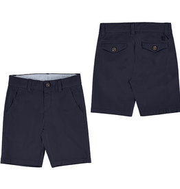 Mayoral Basic Twill Chino Shorts Navy