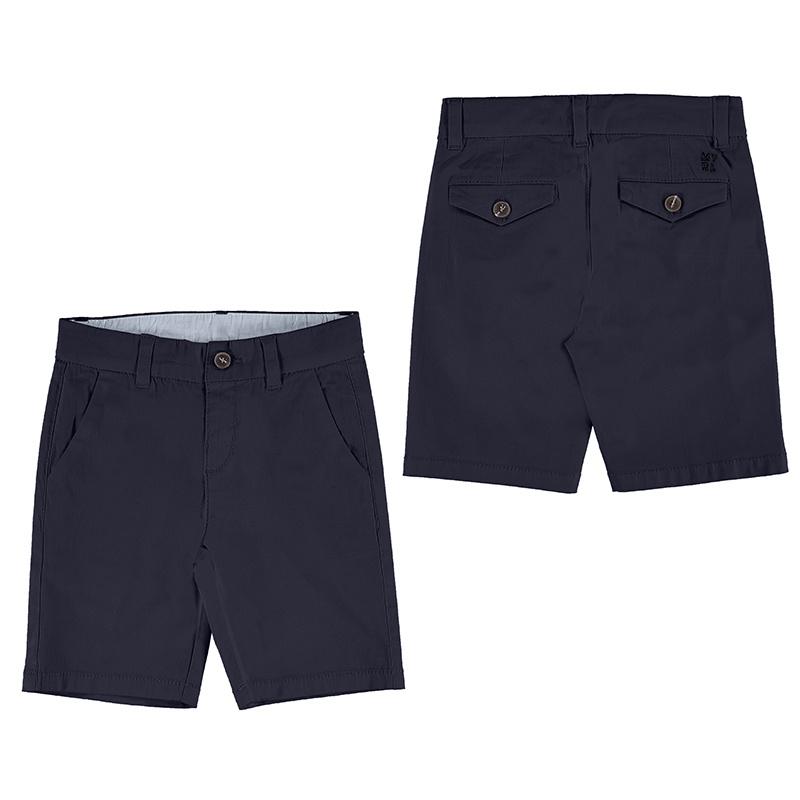 Mayoral Basic Twill Chino Shorts Navy