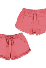 Mayoral Chenille Shorts Coral