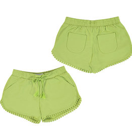 Mayoral Chenille Shorts Pistachio