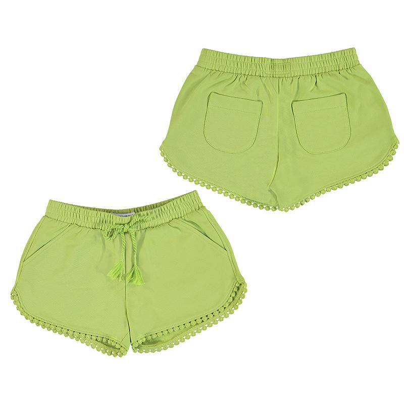 Mayoral Chenille Shorts Pistachio