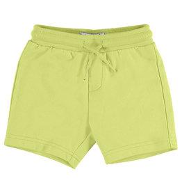 Mayoral Basic Fleece Shorts Lime