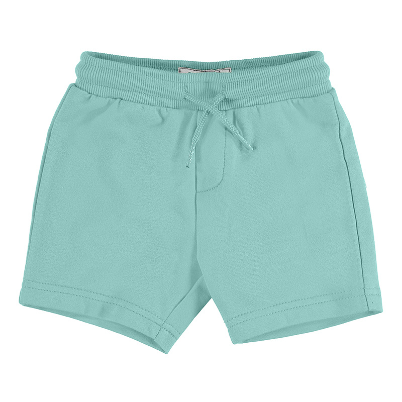Mayoral Basic Fleece Shorts Aqua
