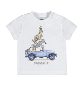 Mayoral SS T-Shirt Friendship White