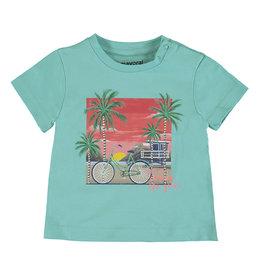 Mayoral SS T-Shirt Aqua