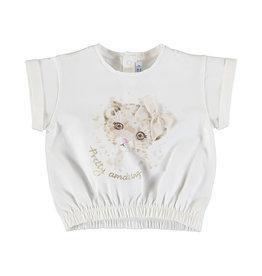 Mayoral SS Print T-Shirt Natural (Cheetah Cub)
