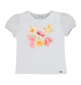 Mayoral SS Plumeti Sleeve T-Shirt Flamingo