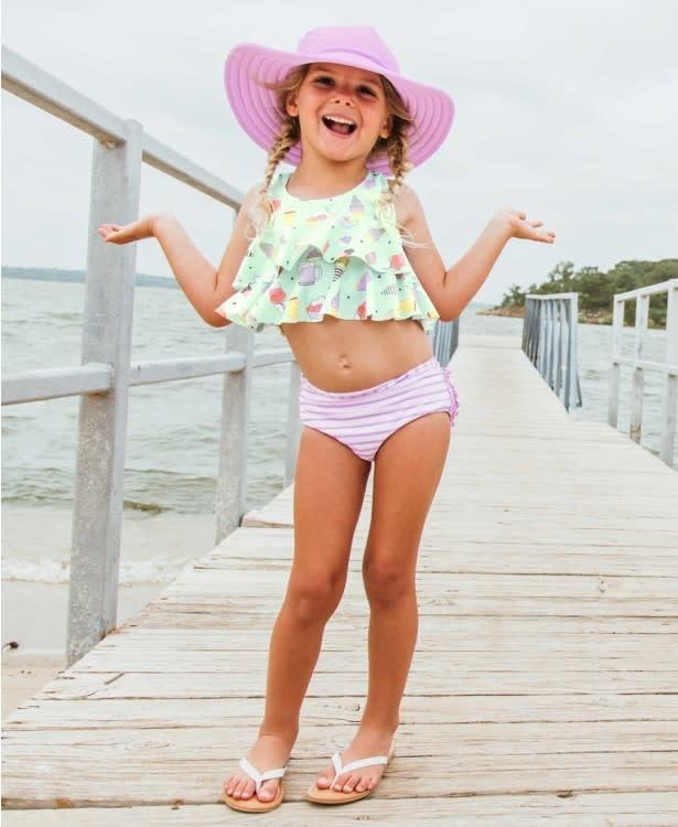 Ruffle Butts/Rugged Butts Anything is Popsicle Ruffle Bikini