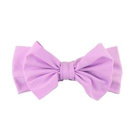 Ruffle Butts/Rugged Butts Lilac Swim Bow Headband (OS)
