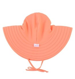 Ruffle Butts/Rugged Butts Coral Swim Hat