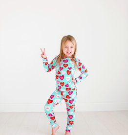Posh Peanut Valerie Long Sleeve Basic Loungewear